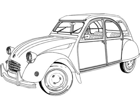 antique car and the unique design coloring pages for boys citro 235 n 2 cv coloring page free printable coloring pages