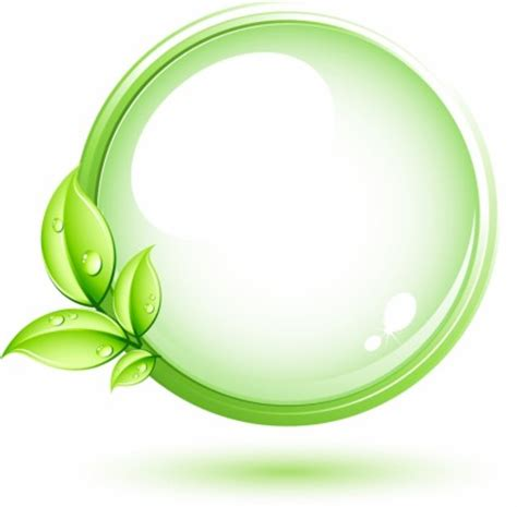 Pola Motif Pohon Daun Hijau tanaman hijau dan lingkaran vektor misc vektor gratis