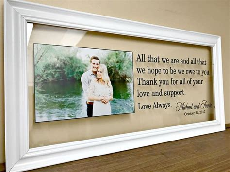 Parent Wedding Gifts – Wedding Gifts For Parents Parent Wedding Gift Personalized