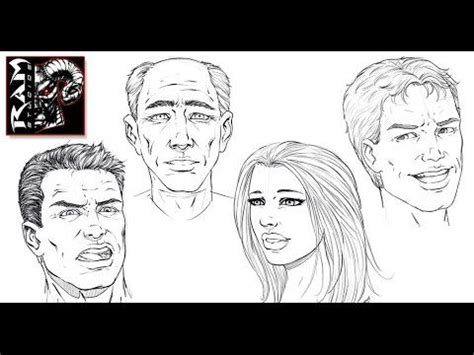 sketchbook pro how to draw how to draw comic book faces sketchbook pro 7