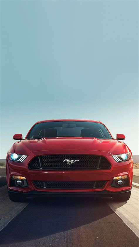 wallpaper for iphone 6 mustang 2015 red mustang iphone 5 wallpaper 640x1136