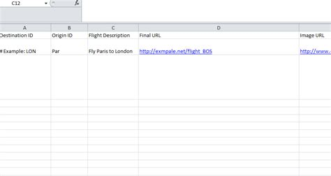 feed template flight feed template my excel templates