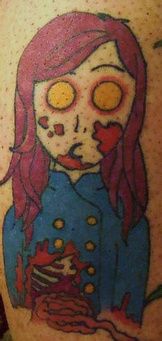 simple zombie tattoo simple zombie tattoo tattooimages biz