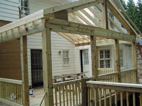 designing  building  screened  porch