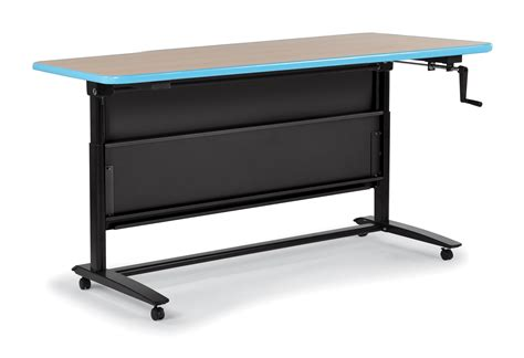 desk lift system adjustable desk promotes healthy learning and lifestyle by allowing students to stand or sit in