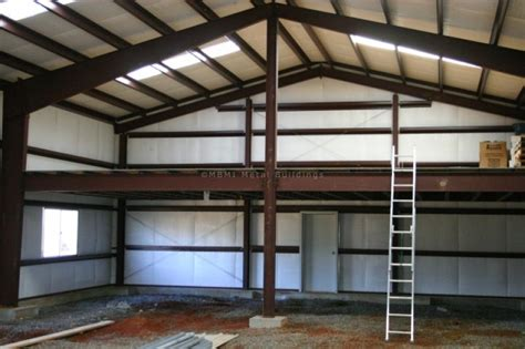 shop with loft steel shop with mezzanine in clermont fl customer