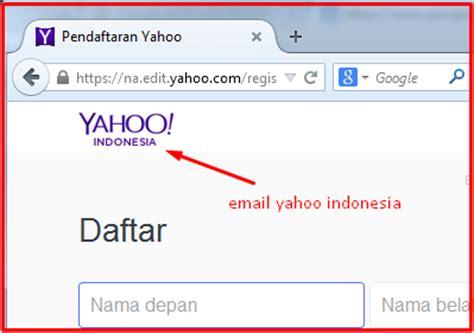langkah membuat email menggunakan yahoo co id langkah membuat email yahoo dengan lebih cepat dan mudah