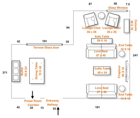 great room living dining combo furniture arrangement