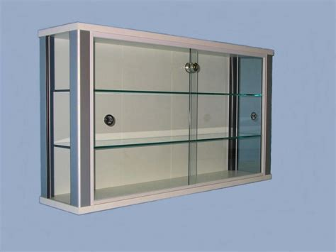 Wall Display Cabinet With Glass Doors Glass Display Wall Display Cabinets With Glass Doors