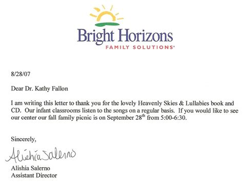 Thank You Letter For Book Donation To Library Foundation 171 Kathy Reilly Fallon