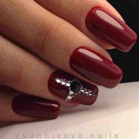 maroon color nails 10 maroon color nail ideas naildesigncode