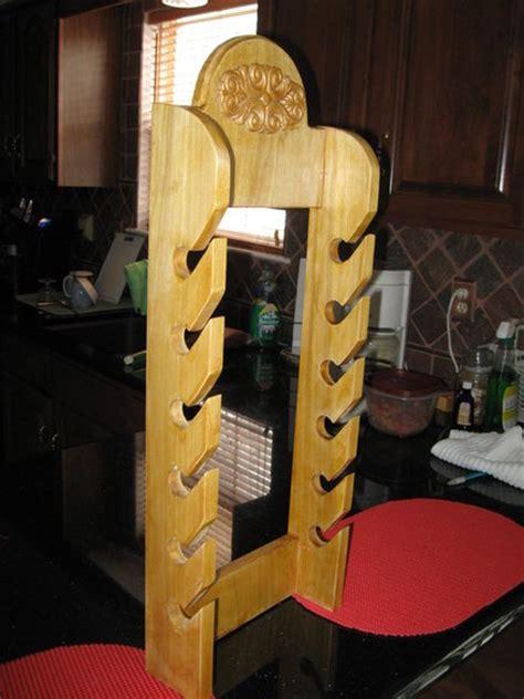 wooden cap rack plans plans diy   rocking