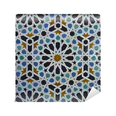 moroccan pattern png moroccan zellige tile pattern wall mural pixers 174 we