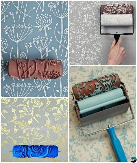 tutorial wall painting diy patterned wall painting ideas and techniques picture
