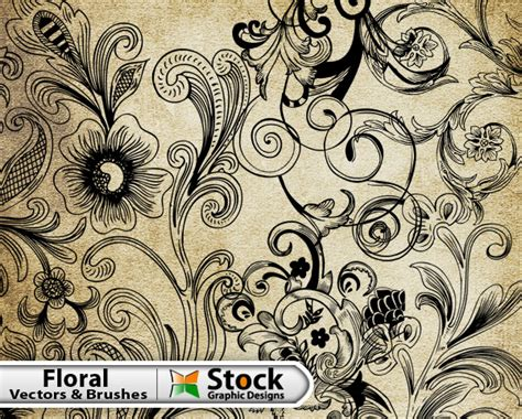 illustrator free transform tool and pattern graphic free floral vector brush pack vector photoshop