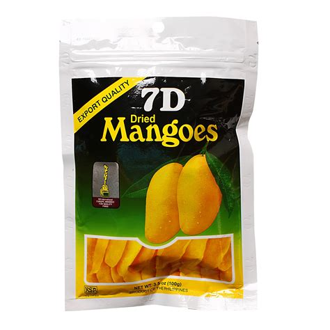 7d dried mangoes 100g 100g from redmart