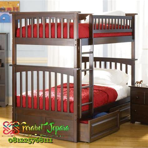 tempat tidur anak susun jual tempat tidur tingkat laci