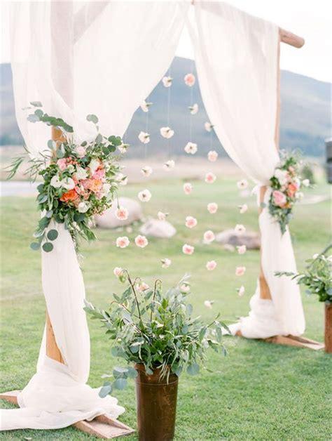 Diy Wedding Flower Ideas by 20 Diy Floral Wedding Arch Decoration Ideas