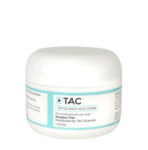 number one tattoo numbing cream tac tattoo anesthetic cream 1 oz