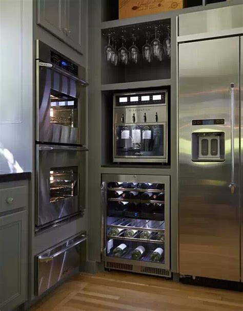 Wine Station In Kitchen barber and haskill appliance and mattress store discovery