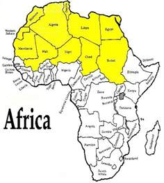 africa map view 78 best images about desert on