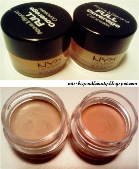 nyx concealer in a jar orange and yellow review miss beyond beauty concealer critic nyx concealer in a