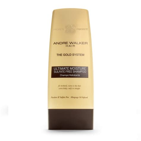 Andre Walker Hair Typing System by Ultimate Moisture Sulfate Free Shoo Andre Walker