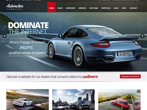 7 Best Car Websites For by 15 Best Car Dealer Themes 2016 Athemes