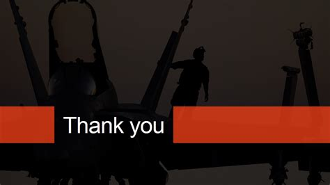 thank you themes for ppt military theme thank you page for powerpoint slidemodel