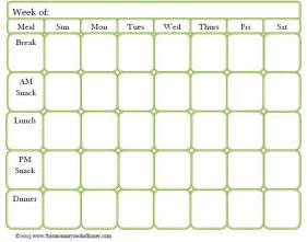 monthly meal planner template search results calendar 2015
