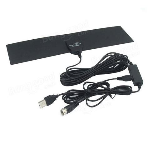 gf hdtv006 car hd digital tv antenna dvb t outdoor indoor antenna pad for american area used
