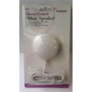 radioshack deluxe pillow speaker with volume