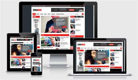 sora templates for blogger sora mag blogger template mag templates