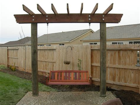 free pergola swing plans simple ideas of pergola swing plans invisibleinkradio