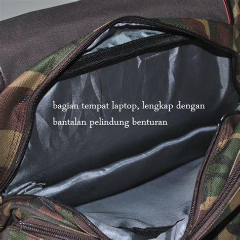 Tas Tempat Makanminum Dengan Alumunium Motif gabag calmo army backpack coolerbag mungsiji