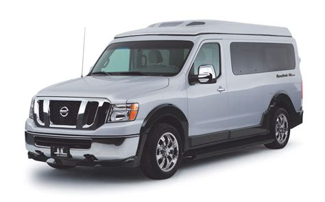 nv nissan the n6 active by roadtrek travel and adventure truck trend