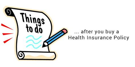 things to do after you buy a house 6 things to do after you get your mediclaim policy