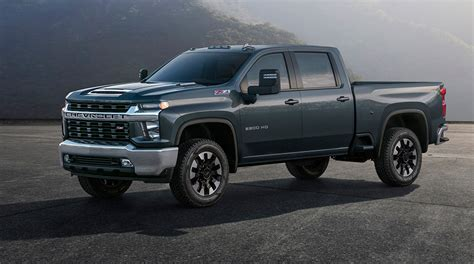 Chevrolet Lineup For 2020 by Chevy Reveals New Silverado Hd Models