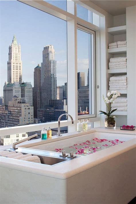 nyc bathroom design 50 bathrooms that to make the most of great views