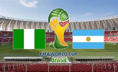 Nigeria Vs Argentina Piala Dunia 2014 Nigeria Vs Argentina Dunia Info Dan Tips