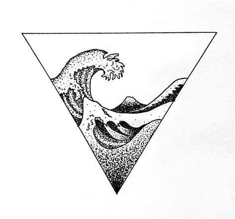 waves tattoo designs pics of my favorite geometric tattoos tattoos