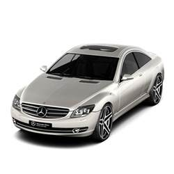 Mercedes 2007 Models 3d Model Mercedes Cl500 2007