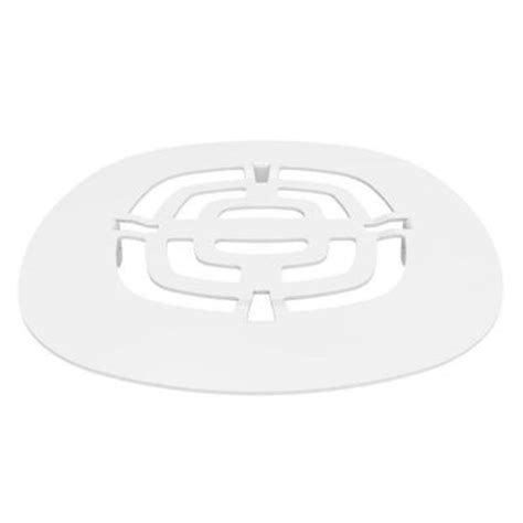 brasstech 4 1 2 in shower drain cover in white 239 50
