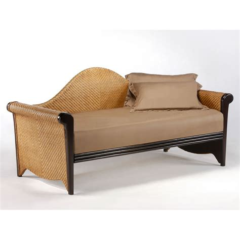 wicker day bed rosebud rattan daybed dcg stores