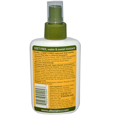 Barn Home Bug O 20 Ml all terrain herbal armor insect repellent