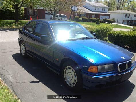 1998 bmw 318ti base hatchback 2 door 1 9l