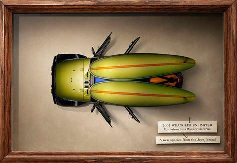 jeep wrangler ads 50 creative print ads for cars bhatnaturally car
