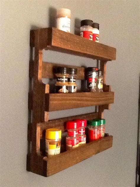 diy spice rack from wood pallet mini pallet spice rack by homedco on etsy 60 00 i could replicate this for sooooo much