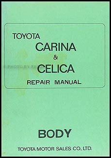 how to download repair manuals 1976 toyota celica lane departure warning 1971 1975 toyota celica body repair shop manual original