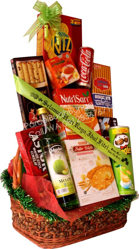 Jual Keranjang Parcel Bogor jual parcel lebaran makanan di gunung putri bogor 081283676719 kode pl 03 buahbunga
